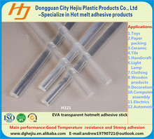 Factory (EVA) Ethylene Vinyl Acetate resin hotmelt adhesive glue stick for plastic car and aircraft