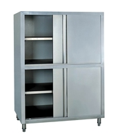 1.2m Commercial stainless steel four doors storage cabinet