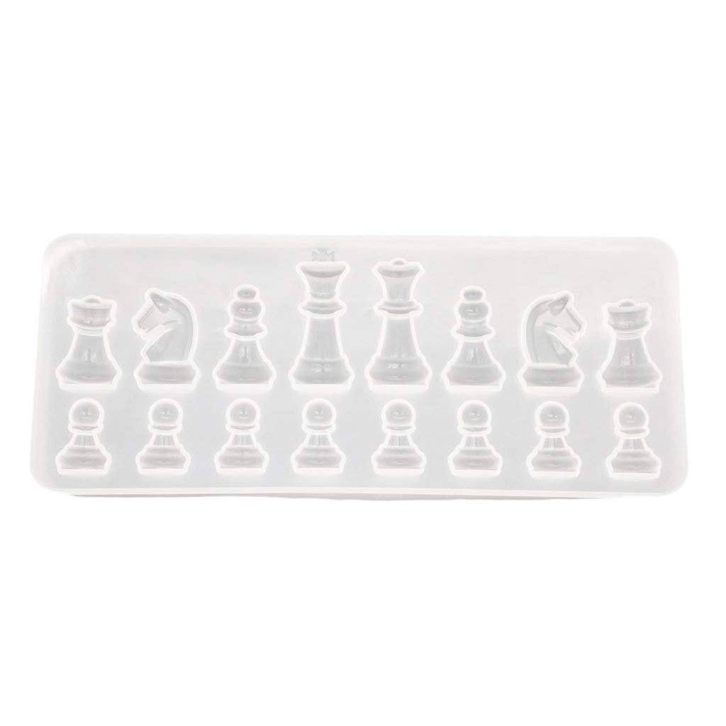 Homyl Silicone DIY Chess Mold Resin Jewelry Making Mold Handcraft Hobbies Toys