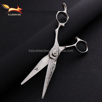 DM-625 6.25inch professional hair scissors with damascus pattern hairdressing scissors Japan 440C