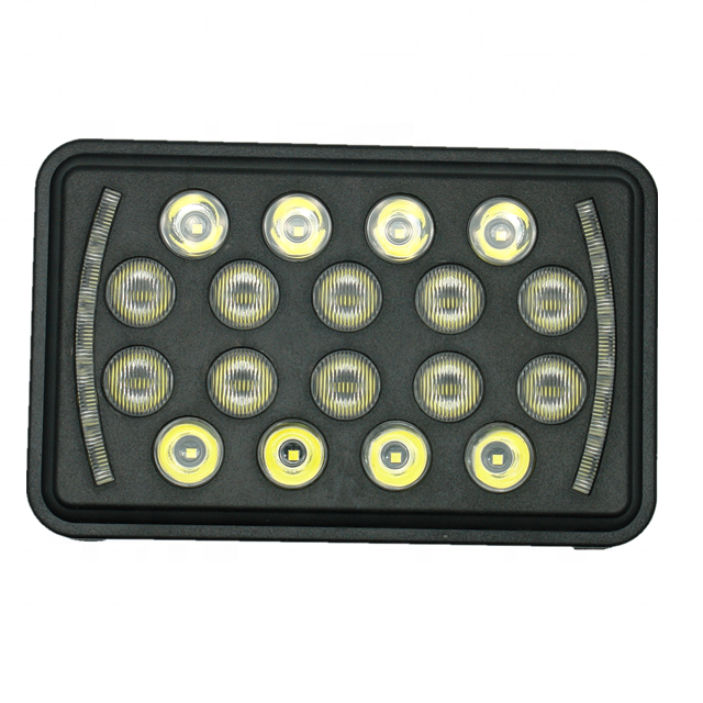 5inch led work light dual color car driving lighting high low beam for auto,truck angle eye