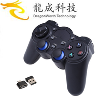 2017 home used 2.4G RF Wireless Gamepad 2.4ghz gamepad wholesale online Joystick & game control