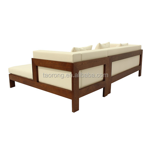Simple Design 2 Seat Wooden Sofa Bed So 481 Buy