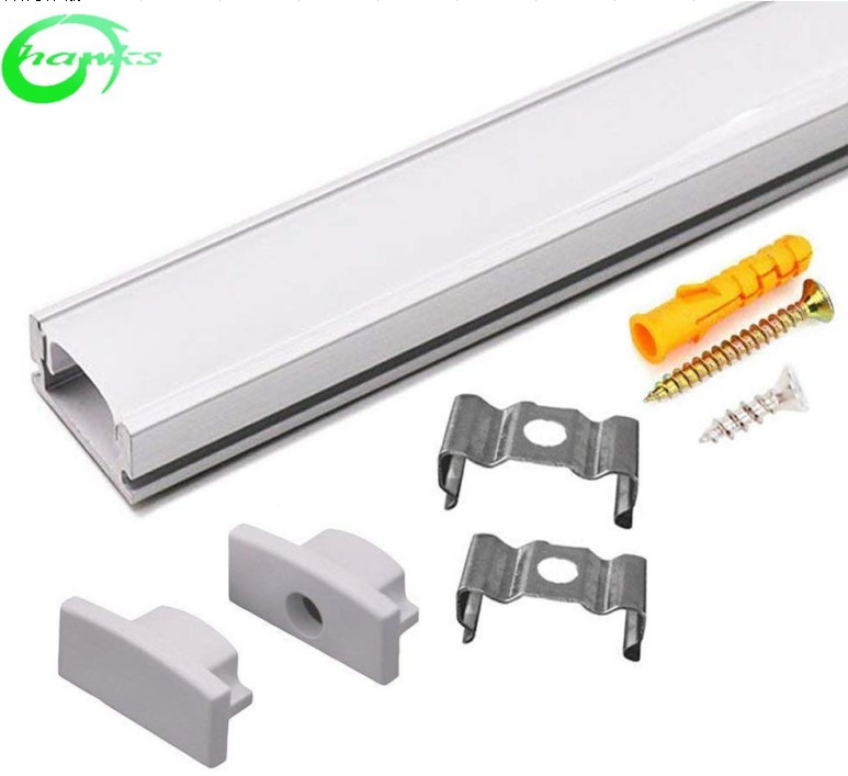 Factory Price 1.5mm thickness walkable Floor <strong>aluminum</strong>, led <strong>aluminum</strong> profile for led strips lights from china
