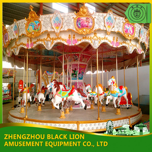 Hot Selling Amusement Park Equipment Carousel Ride 2016