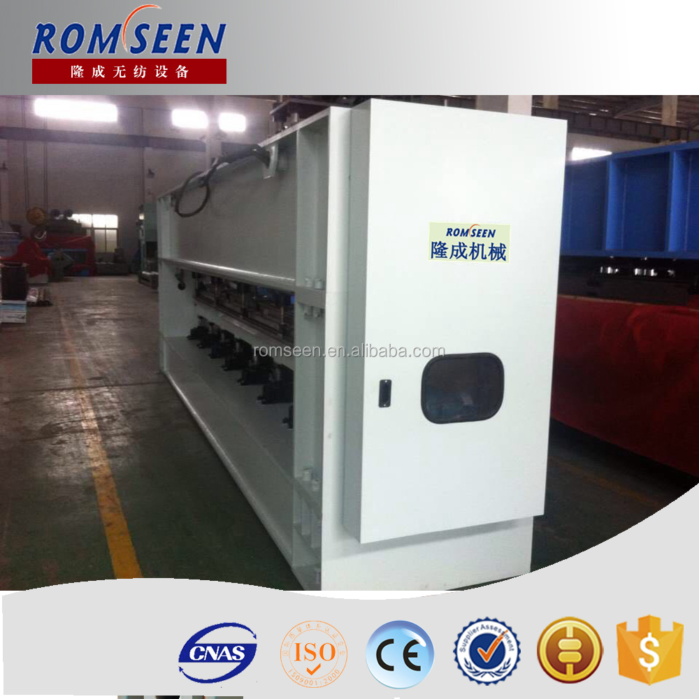 High quality non-woven synthetic leather base fabric making machine