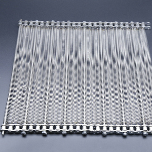 stainless steel wire balance weave conveyor mesh belt with PTFE coated