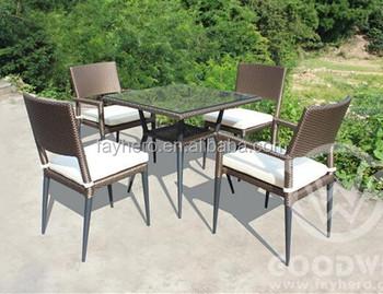Gw3299set Hd Designs Alibaba Restaurant Pe Rattan Dining Set Outdoor