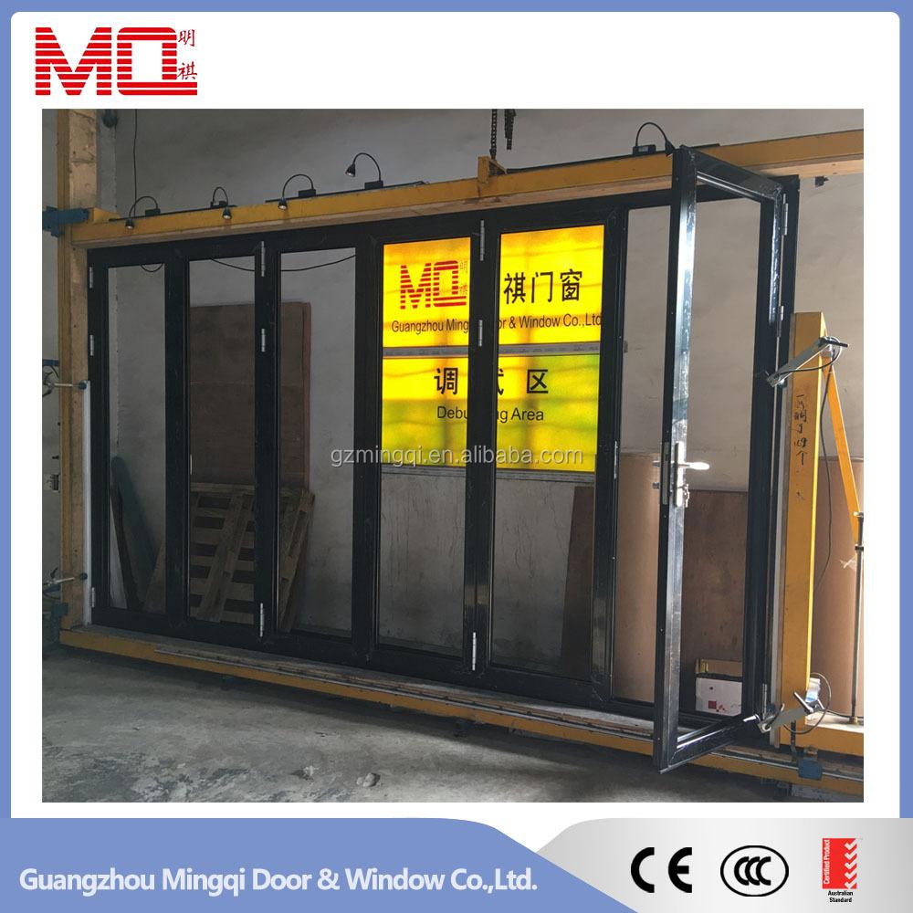 AuBergewohnlich Akkordeon Aluminium Glas Terrasse Außen 24 Zoll Bifold Türen/Falttüren