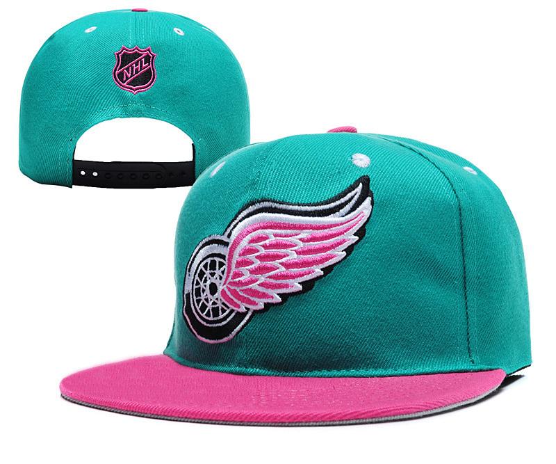 New Fashion NHL Detroit Wings Snapback Cap Cool snapback hat Detroit Wings  adjustable a4003a3690b