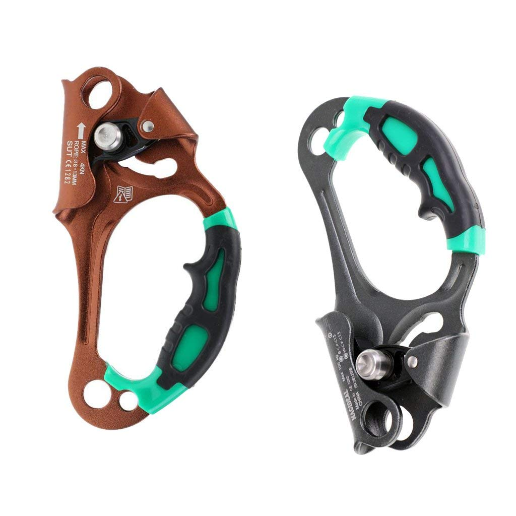 Sporting Goods Outdoor Climbing Chest Ascender Rope Clamp Equipment for Smooth Abseiling Carabiners & Hardware