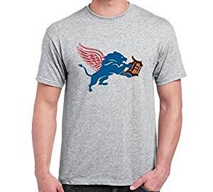 pretty nice ef853 7fc94 Buy DETROIT Red Wings Lions Tigers Fan Sport Logo 4
