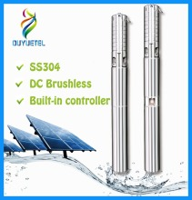 BOTU agricultural irrigation 0.5 hp water pump Solar submersible pump