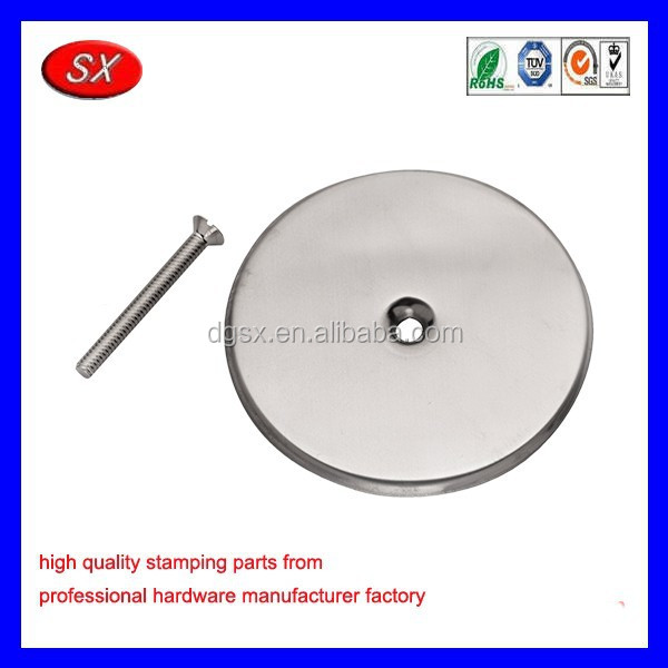 OEM stainless steel cover plate 316 round cover plate sheet metal stamping part