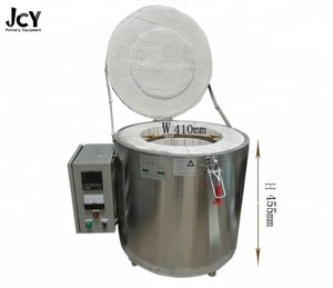 Automatic top-loading electrical kiln for pottery