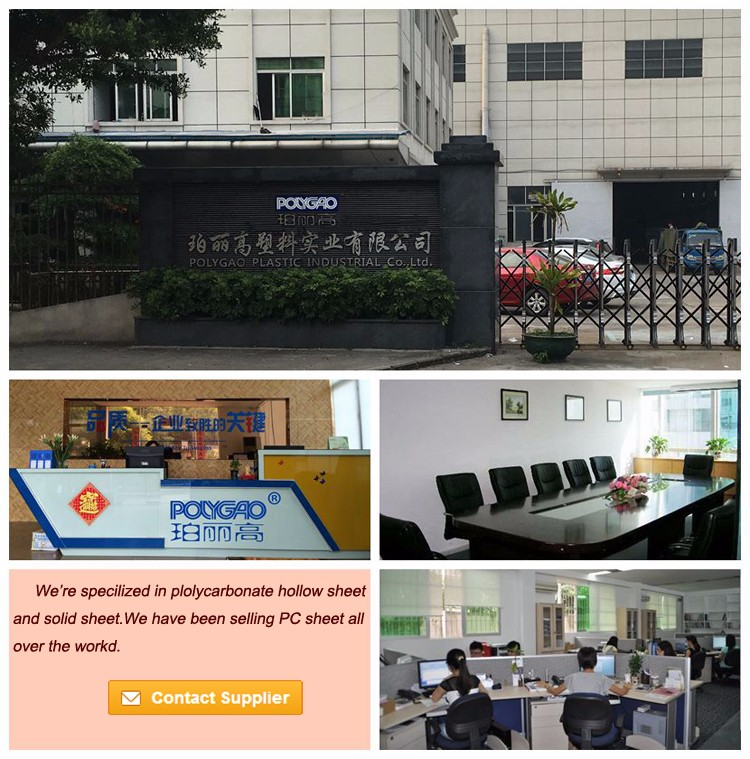 Wholesale ge lexan polycarbonate sheet manufacturers for office buildings-3