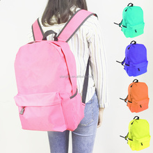 600D Water-proof Womens Girls Pink Backpacks For School