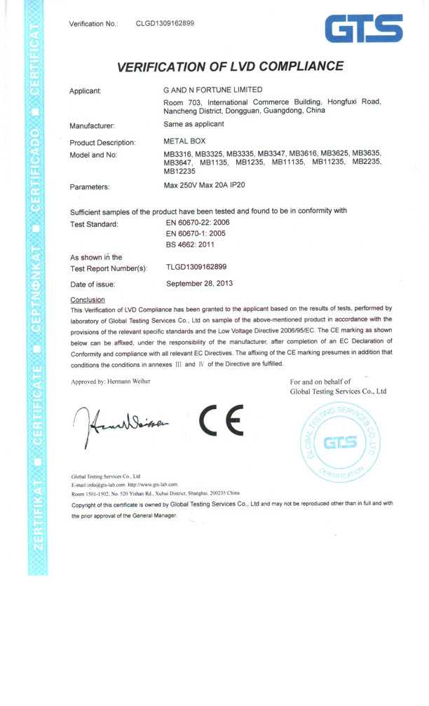 Company Overview - G And N Fortune Limited