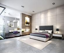 Competitive price interior wall designs natural stone grey brown marble tiles