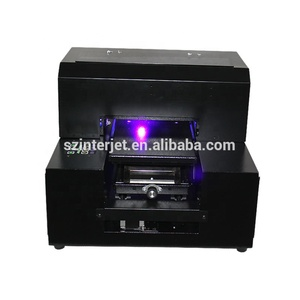 Direct to A4 size desk top UV substrate printing machine