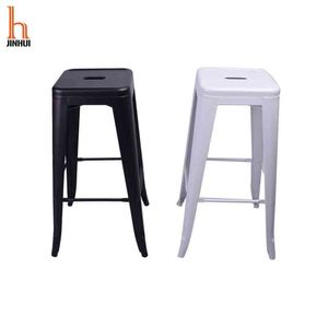 Modern Popular Bar Metal Steel Stool Retail Bar Stool