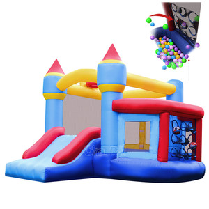 residential inflatable bouncy jumping castle for kids