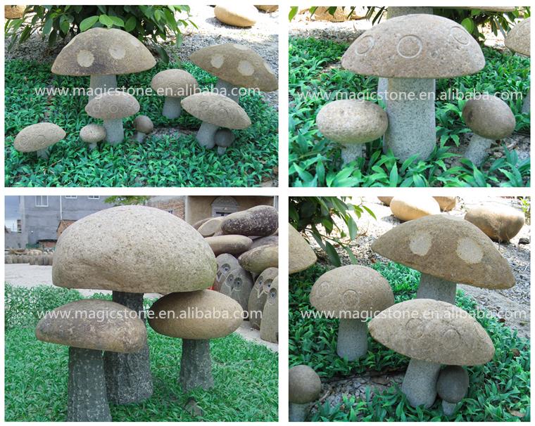 Decorative Garden Ornaments Of Stone Mushrooms Buy Decorative