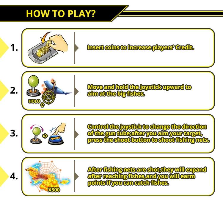 Sıcak popüler balıkçılık beceri arcade balıkçılık oyunu balık kurulu oyun Yuvası