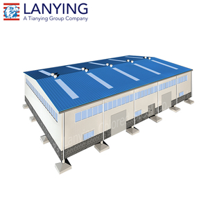 Prefab building a steel shed iron structure light gauge steel warehouse