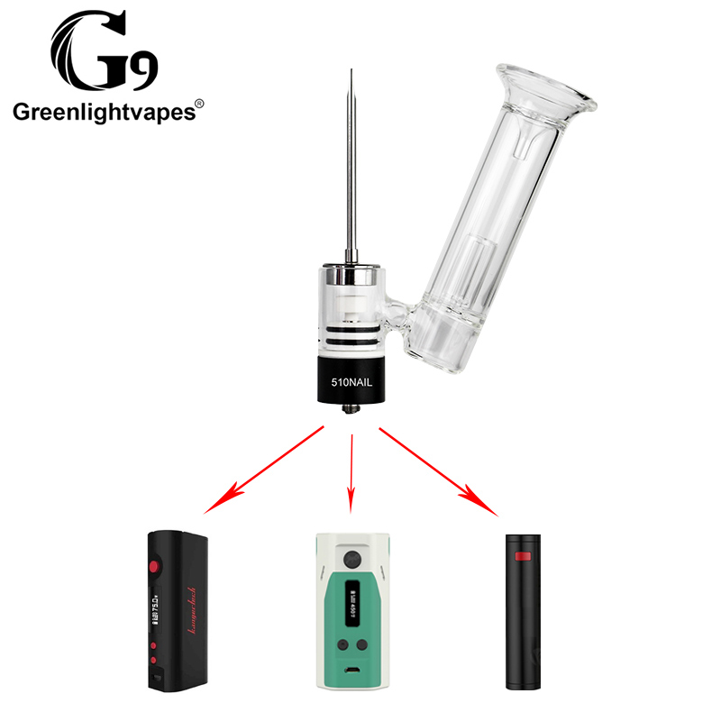 Vaporizer dabbing device used for travel dabbing G9 510nail