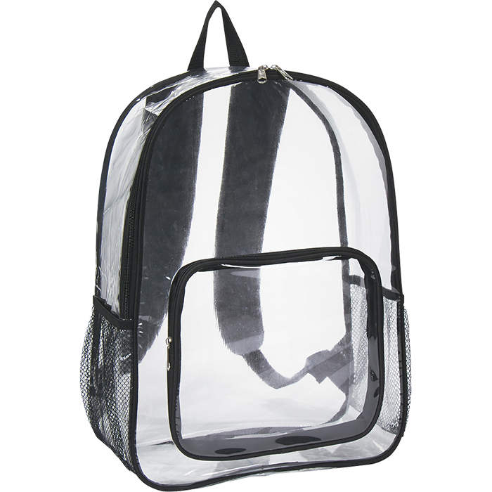 beegreen wholesale pvc clear backpack with front zipper pocket buy pvc backpack clear pvc. Black Bedroom Furniture Sets. Home Design Ideas