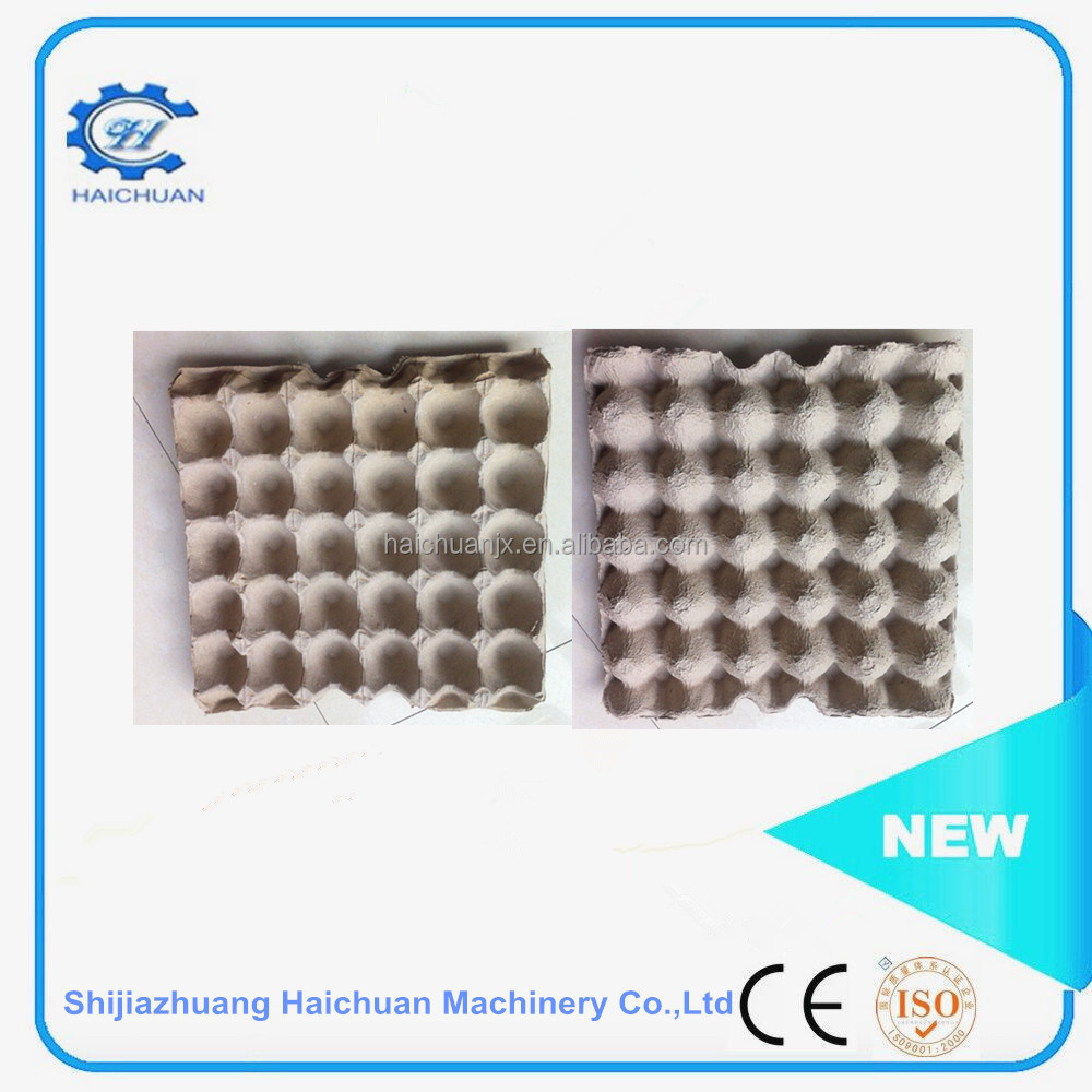 haichuan Quail eggs boxes Customized colorful egg carton Recycled pulp paper egg tray