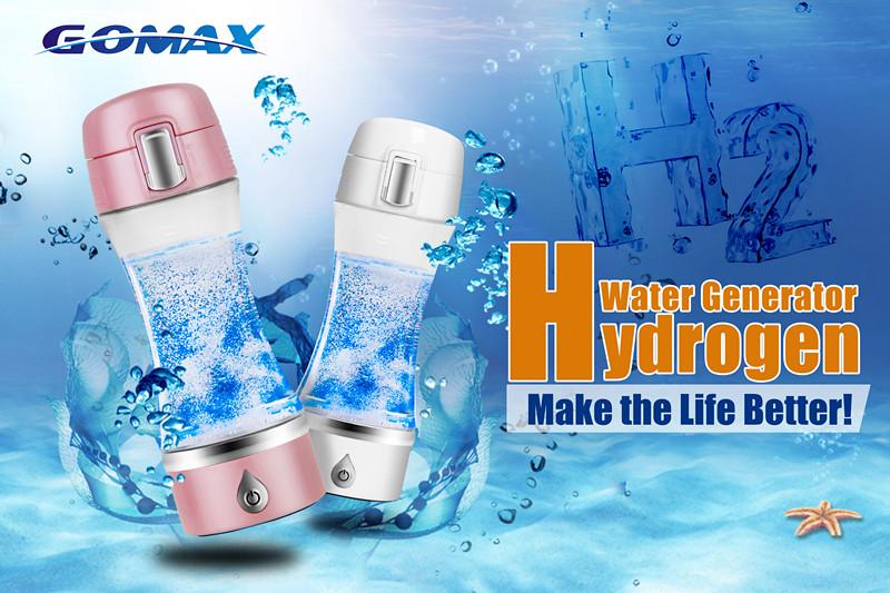 2018 GOMAX water filter fles gezondheidszorg apparatuur waterstof water machine