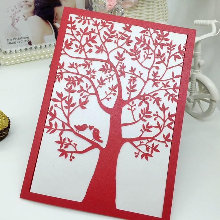 Laser Cut Wedding Invitations Tree, Laser Cut Wedding Invitations Tree  Suppliers And Manufacturers At Alibaba.com
