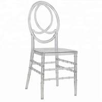 Wholesale Cheaper Wedding And Event Acrylic Chair Clear Transparent Round Back Rentals Resin Phoenix Chair