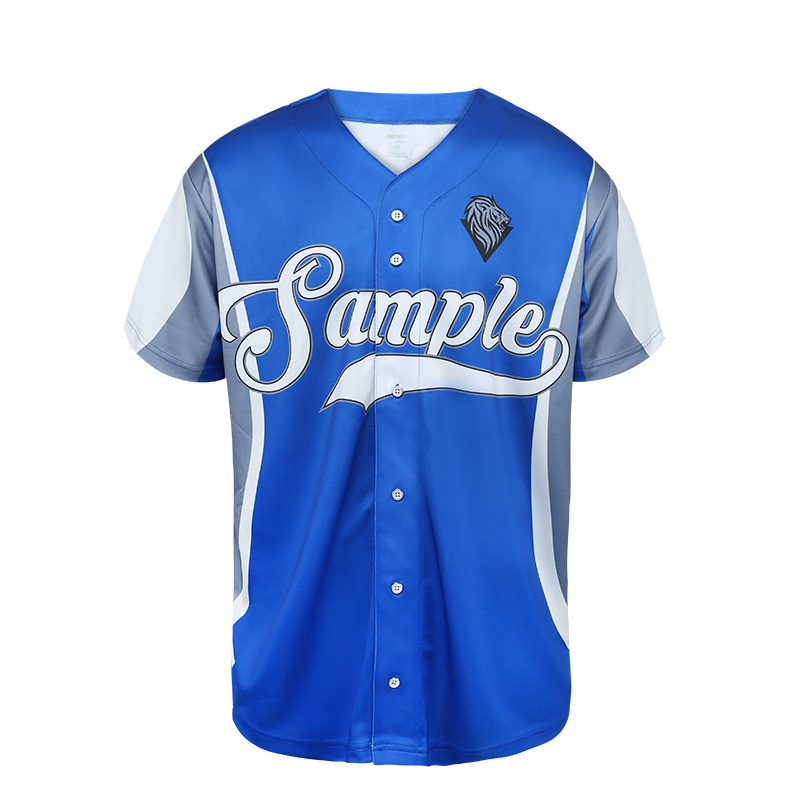 Wholesale College Cheap Blank Plain 100% Polyester Fabric v neck American Baseball Jerseys For Sale