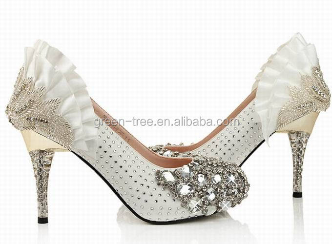 2014 The most graceful high quality women wedding shoes