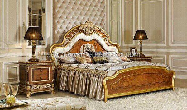 0062 Luxury Palace Furniture Home Used Bedroom Furniture