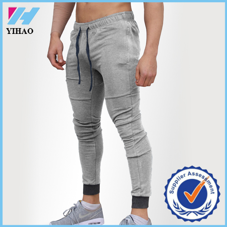 be0415342 New Gym Mens Joggers pants Casual bodybuilding Sport Skinny trousers  Basketball strength training Sweat pants