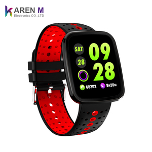 2018 v6 waterproof watch support Heart Rate Monitor Blood Pressure Smart Bracelet For IOS Android Phone