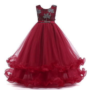 e521113464 2018 hot sale European and American princess wedding party flower girl  dresses