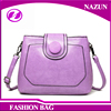 Lady PU Leather Hot Sale High Quality Sling Beautiful Shoulder patchwork Bag For Girls