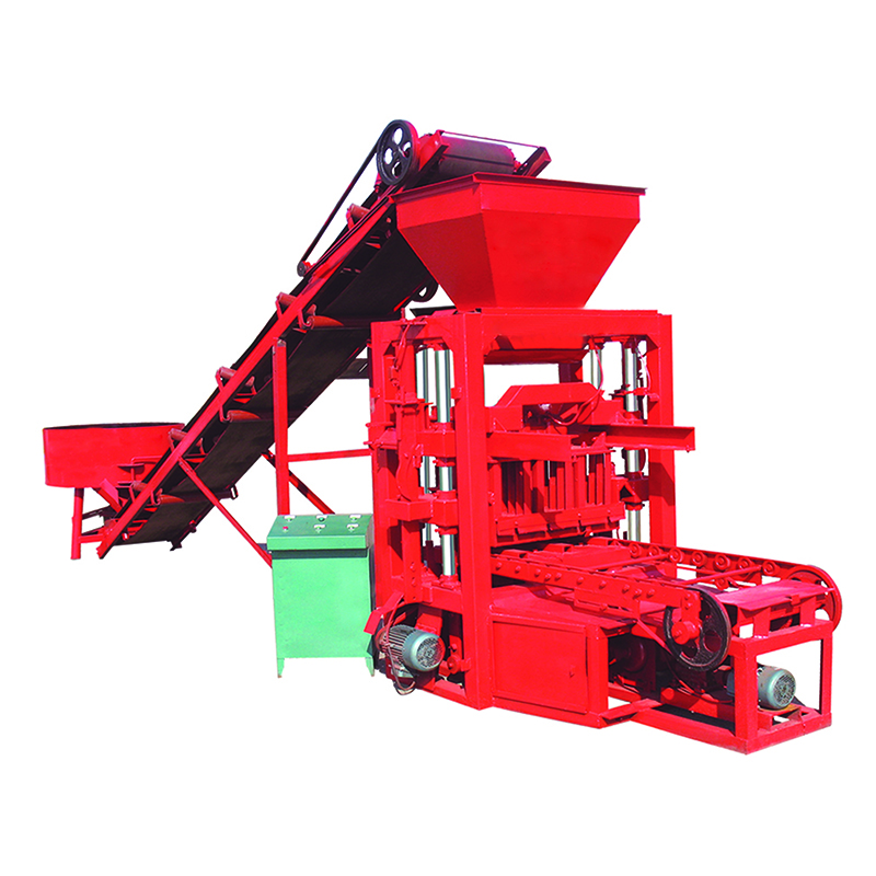 Hot sale QTJ 4-26 interlocking brick making machine with design