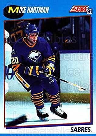Mike Hartman Hockey Card 1991-92 Score Canadian Bilingual 454 Mike Hartman