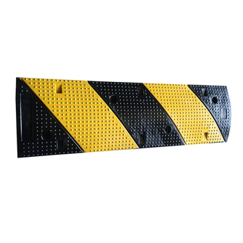 1000mm yellow and black rubber speed safety hump