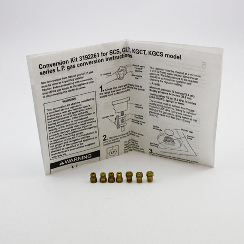 Whirlpool Range/Stove/Oven Gas LP Conversion Kit 3192261 New & OEM!