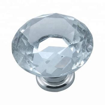 Goedkope Decoratieve Mooie Kristallen Glazen Kast Knoppen Dressoir Knoppen Voor Keuken Kast Deur En Lade Venster Buy Kristal Knopkristal