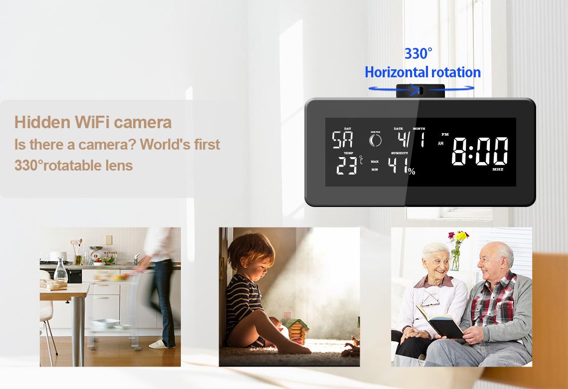 高品質新しい時計スパイカメラ隠し時計カメラ隠し時計カメラ