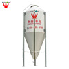Best selling fiberglass used silo for poultry farm