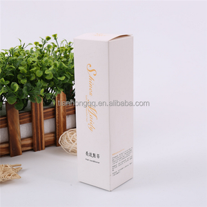 Wholesale Promotional Cheap Custom Logo Color Printed Small Product Flat Pack Cosmetic Card Paper Packaging Box for Perfume